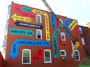 Smartland Body Block Arcade Apartments Mural