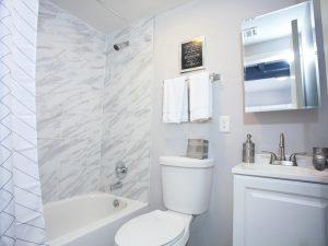 Renovated Apartment Bathroom