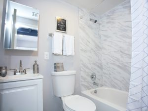 Remodeled Apartment Bathroom