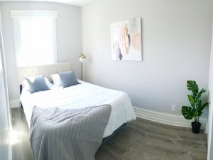 Remodeled Apartment Bedroom