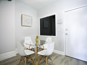 Renovated Apartment Dining Room