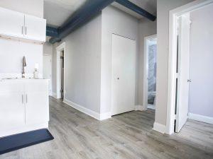 Renovated Apartment Hallway
